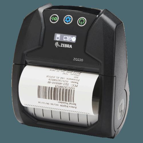 Zebra ZQ210 ZQ 220 Mobiler Etiketten- und Belegdrucker