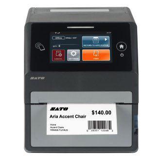 "Sato CT4-LX 4"" Smart Desktop Printer"