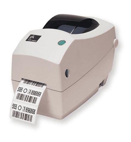 Zebra TLP2824 Plus Thermal transfer desktop printer
