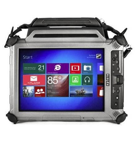 Zebra XC6 DMSR Ultra Rugged Sunlight Readable Tablet