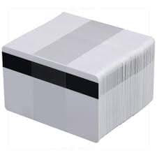 Cartes PVC Zebra Premier LoCo 30 mm - Blanc - Magnétique